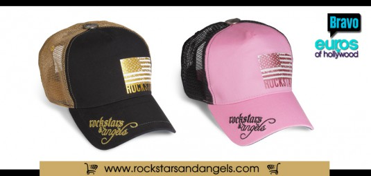 eurocap , euros, bravotv, hollywood, onlinestore, trucker cap, rockstars angels, euros of hollywood
