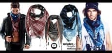 R&A Zipper Scarf Collection