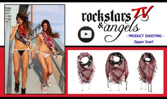 Scarf, rockstars & angels, sascha gerecht, los angeles