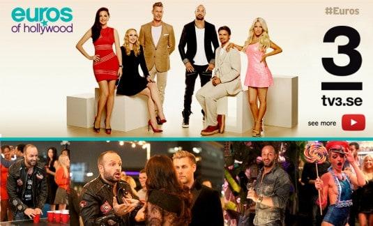 euros sweden , euros of hollywood , tv3 , sweden , sascha gerecht , rockstars and angels , isabel adrian