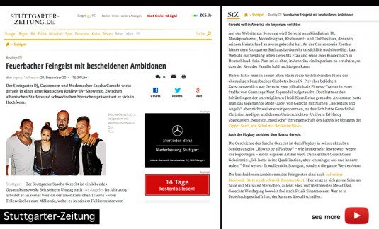 pressnews stuttgart sascha gerecht rockstars and angels mode fashion fellbach stuttgart