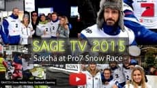 NEW SAGE TV EPISODE – SNOW RACE PART 1