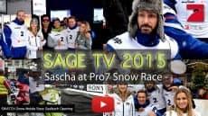 NEW SAGE TV EPISODE – SNOW RACE PART 1