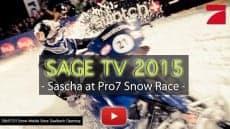 NEW SAGE TV EPISODE – SNOW RACE PART 2