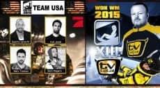 WOK WM 2015 Team USA with German Tank Sascha