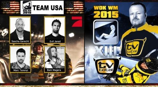 wok wm-new, pro 7 , stefan raab, wok wm 2015, tv total