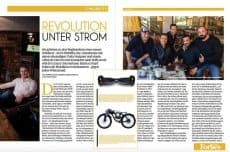 my NEW Company of E-Mobility in FORBES Magazin