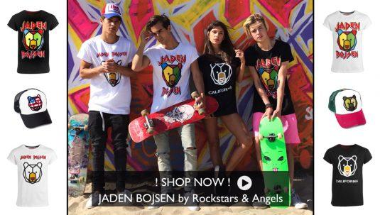 Jaden Bojsen , Merchandise , Videodays , Jaden , Bojsen , Videodays 2017 , Fashion , Bekleidung , Mode , Music, Kerni , Sascha Gerecht , Rockstars & Angels , Collection , Los Angeles , Hollywood , TV , Radio , Big FM , Tour , Parokaaville 2017